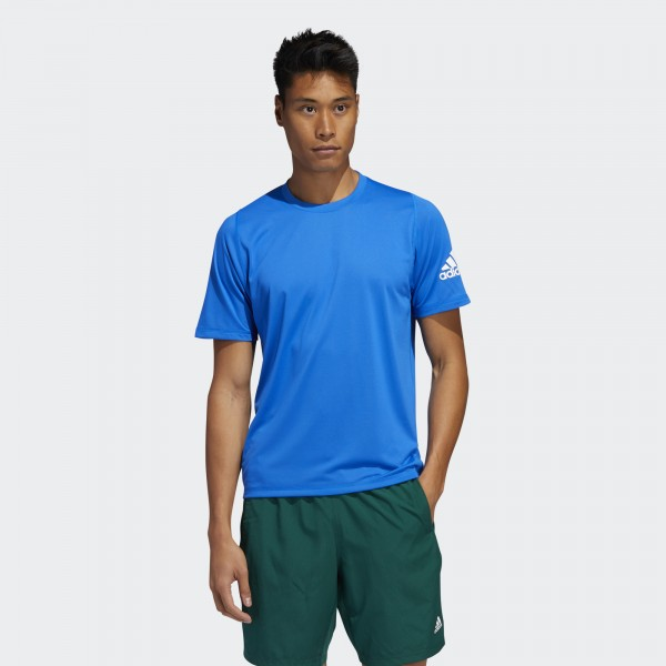 FREELIFT SPORT ULTIMATE SOLID TEE BLÁR