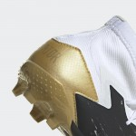 PREDATOR MUTATOR 20.1 FIRM GROUND BOOTS HVÍTIR/GOLD
