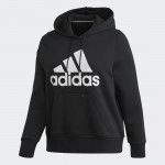 BADGE OF SPORT HOODIE FLEECE HETTUPEYS (PLUS SIZE)