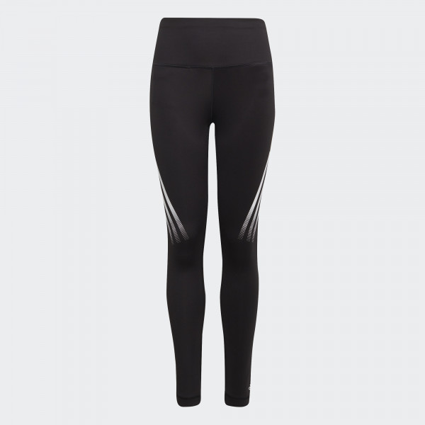 BELIEVE THIS AEROREADY 3-STRIPES HIGH-RISE STRETCH TRAINING TIGHTS