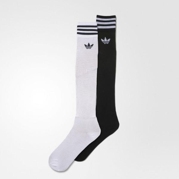 Solid Knee Sock