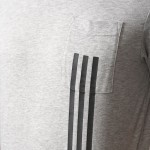 ID 3-STRIPES POCKET TEE